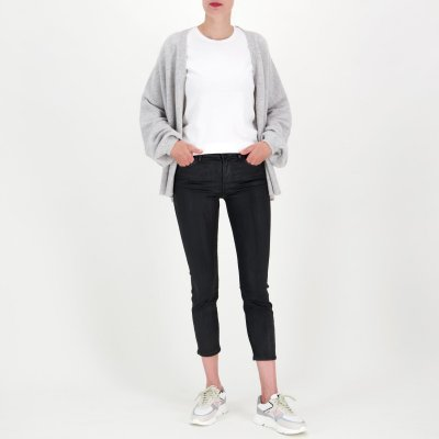 7 For All Mankind Jeans 'Roxanne Ankle Coated'