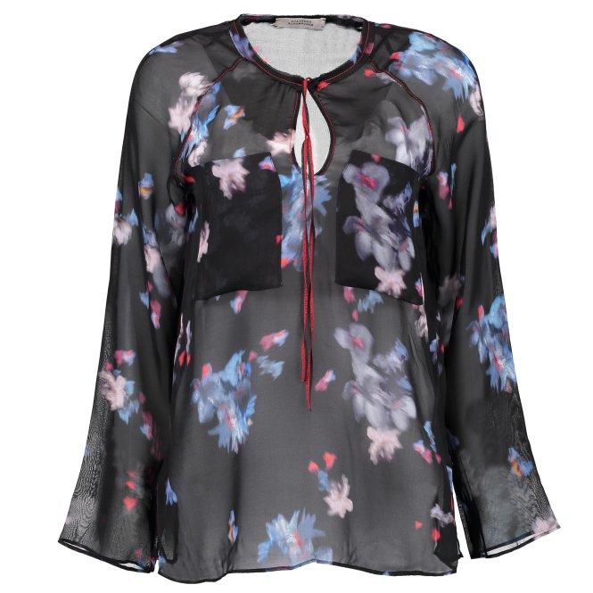 Bluse 'Night Loving Flower'