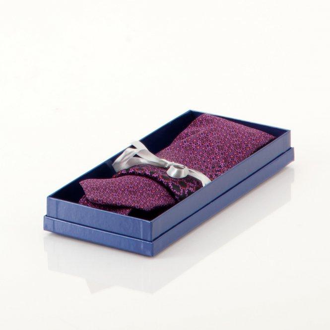 Geschenkset mit Krawatte und Einstecktür