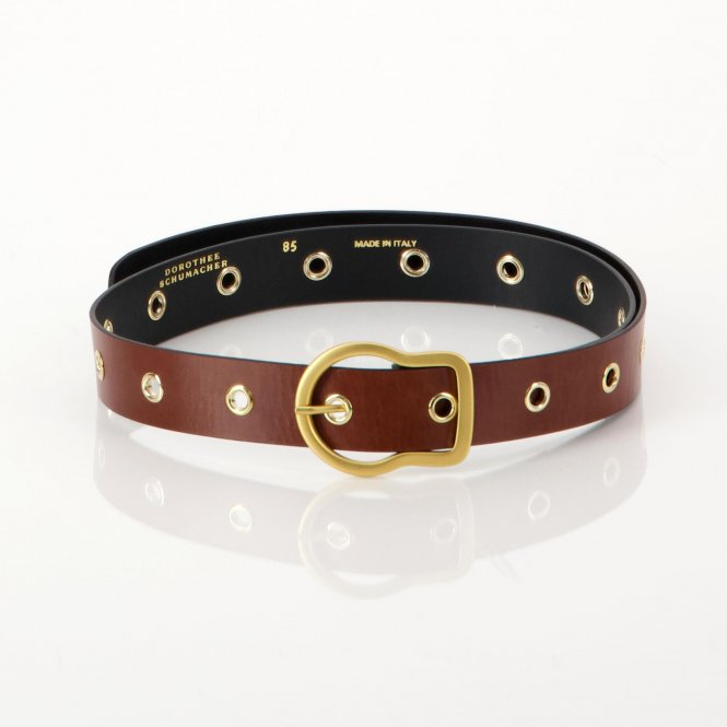 Gürtel 'Touch of Metall Eyelet Belt'