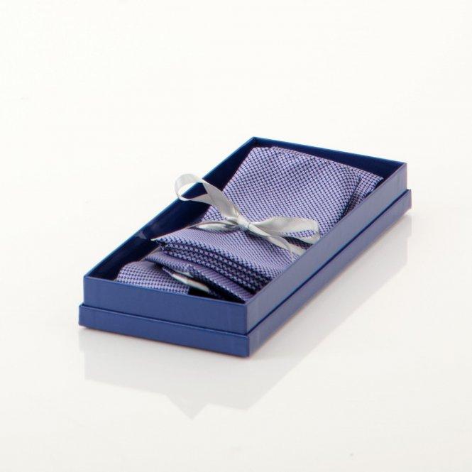 Geschenkset mit Krawatte und Einstecktuch