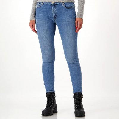 7 For All Mankind Jeans 'High Waist Skinny Crop'