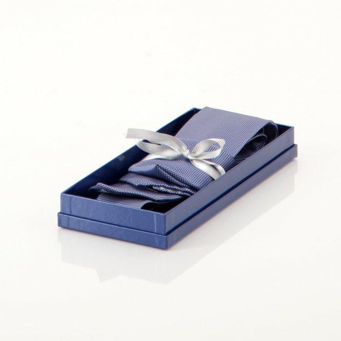 Geschenkset Krawatte mit Einstecktuch