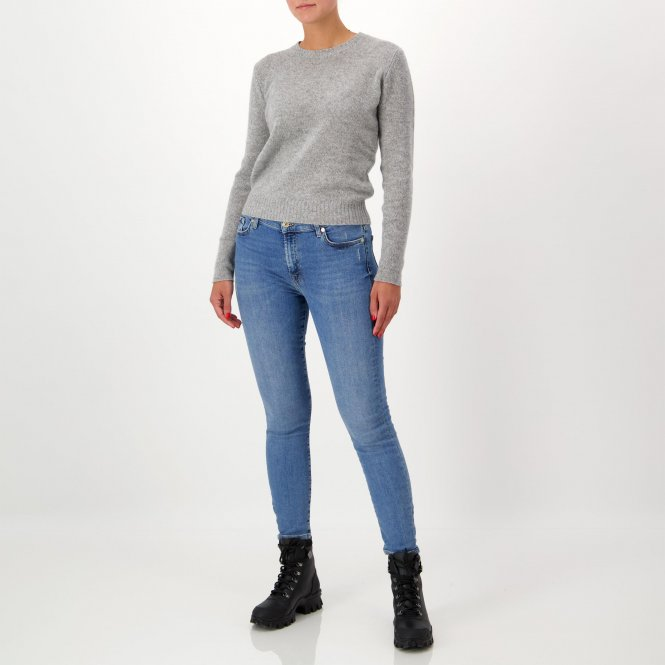Jeans 'High Waist Skinny Crop'